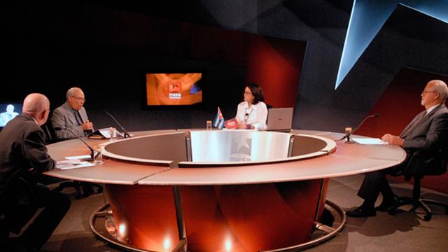 Reinaldo Taladrid comentó el fragmento de una entrevista realizada en Miami por Maria Elvira Salazar a Posada en el que este admite su participación en los hechos terroristas en los hoteles de Cuba. Foto René García